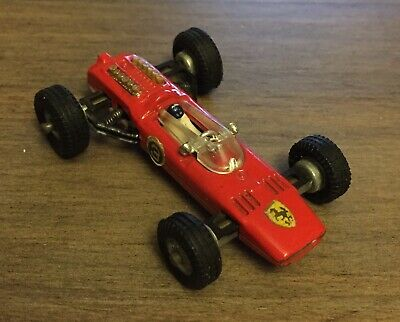 $9.60 • Buy Politoys Penny 1/66 Scale Vintage 0/9 Ferrari 36V F1 Red Diecast Racing Car