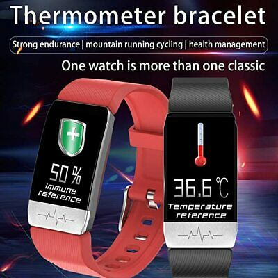 View Details Smart Watch FitBit COV19 Thermometer Health Activity Tracker Heart Sleep Sport • 29.99£