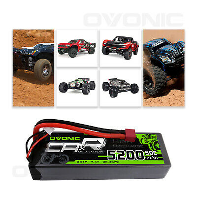 $ CDN41.29 • Buy Ovonic 50C 7.4V 5200mAh 2S Lipo Battery Deans T Plug For RC Vehicle Car Truck