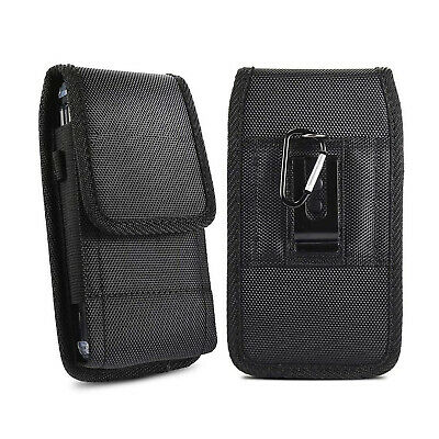 AU14.99 • Buy Cell Phone Vertical Pouch Holster Case Nylon Belt Loop Clip Carrying Bag Cover