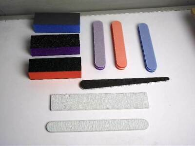 Modellers Set Of Sanding Files And Sponges 9 Pieces For Model Kits • 5.50£