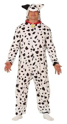 £20.99 • Buy Mens Ladies Adults Spotty Black White Dalmatian Dog  Fancy Dress Costume Outfit
