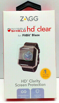 $ CDN10.09 • Buy NEW ZAGG InvisibleShield HD Clear Screen Protector For Fitbit Blaze FBBHWS-F0B