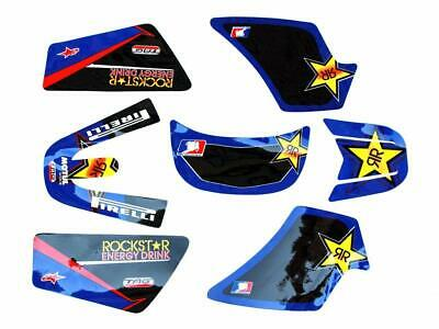 $ CDN35.02 • Buy Yamaha Pw50 Pw 50  Self Stick Rockstar Graphics Decal Kit New