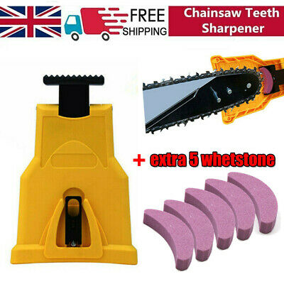 £6.93 • Buy Chainsaw Teeth Sharpener ChainSaw Blade Sharpening Grinder Tool Easy To Use UK