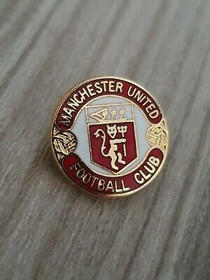 Vintage Late 1990s Manchester United Badge Man Utd MUFC Enamel Pin Badge A112a  • 6.95£