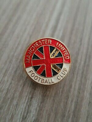 Vintage Late 1990s Manchester United Badge Man Utd MUFC Enamel Pin Badge A116  • 7.95£