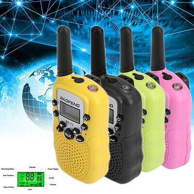 $ CDN42.25 • Buy Walkie Talkie BF-T3 UHF Long Range 8CH 3km LED CTCSS DCS Handheld 2-Way Radio