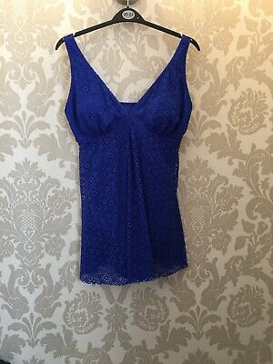 BNWT Bathing Costume With Skirt Size 16 • 5.99£