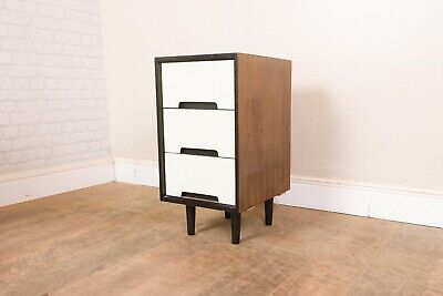 Vintage Retro Mid Century Bedside C Range Cabinet Chest Of Drawers By Stag • 100£