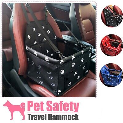 Travel Portable Dog Car Seat Belt Booster Carrier Folding Bag Cat Puppy Pets- • 14.50£