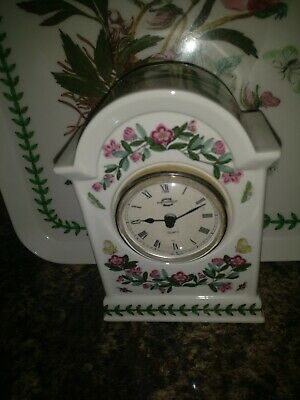 Portmeirion Botanic Garden Mantle Clock • 29.99£
