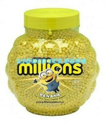 £1.99 • Buy MILLIONS BANANA FLAVOUR SWEETS 2.27kg FULL JAR IDEAL WEDDING/PARTY BAG KIDS