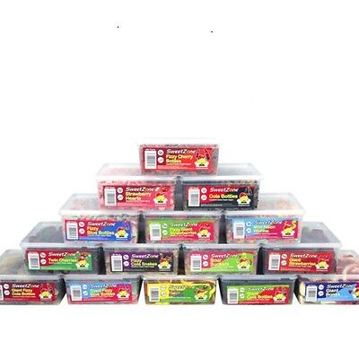 Sweetzone Halal Hmc Jelly Fizzy Pencils Candy Sweets Tubs Various Varieties • 9.99£