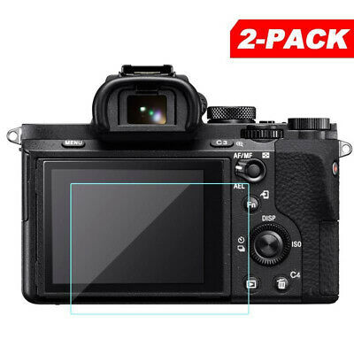 $ CDN10.25 • Buy 2pcs Tempered Glass Screen Protector Set For Sony A7II A7III A7SII A7RII A99 A9