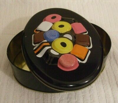 Sweet Tin  *** Large Liquorice Allsorts Tin - Marks & Spencer *** Clean/used • 4.75£