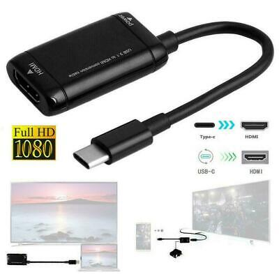 AU6.69 • Buy 1080P Type C To HDMI Cable Converter USB-C Adapter For Phone USB3.1 Tablet F4H1