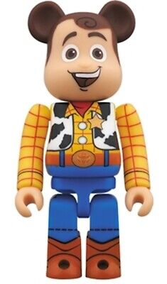 $888.99 • Buy New Medicom Be@rbrick 2015 Disney Toy Story 400% Woody Cowboy Bearbrick Japan