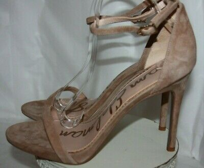 $ CDN60.13 • Buy Sam Edelman Ariella Strappy Oatmeal Kid Suede Sandals  Women's Size 10W