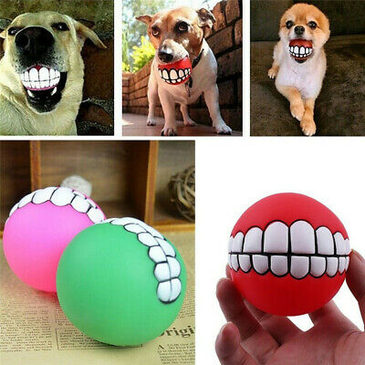 £2.64 • Buy Pet Dog Toy Solid Rubber Ball Indestructible Training Chew Play Fetch Bite Toys