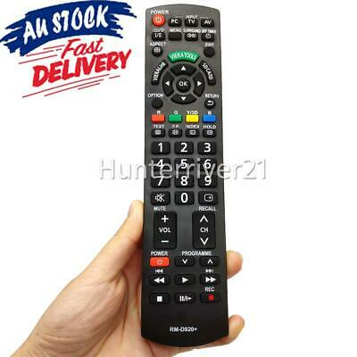 AU16.95 • Buy TV REMOTE CONTROL For PANASONIC N2QAYB000352 N2QAYB000494 N2QAYB000496