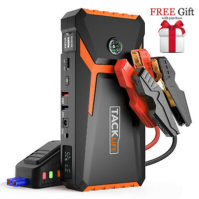 AU119.99 • Buy Hot GIFT!Solid TACKLIFE T8 800A Car Jump Starter Portable Power Pack ,Car Jumper