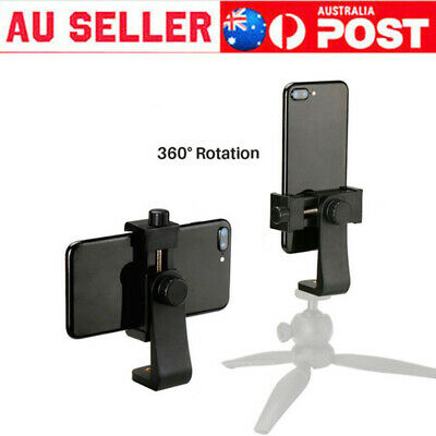 AU10.99 • Buy Bracket Holder Monopod Tripod Mount Stand Adapter For Mobile Phone Camera