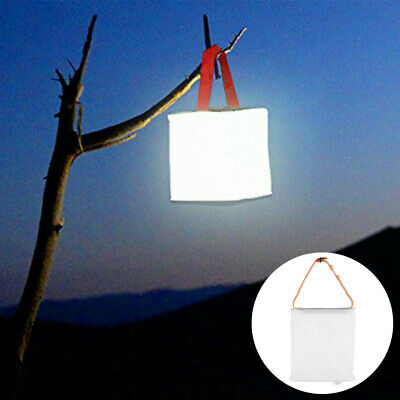 AU9.99 • Buy Folding Inflatable Lantern Lamp Camping Light Lamp LED Solar Power Tent Outdoor