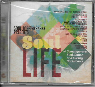 Soul Togetherness Presents Soul Life 16 Track Modern Soul CD New & Sealed • 7.99£