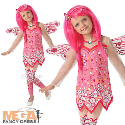 Deluxe Mia & Me Girls Fancy Dress Mystical Fairy TV Show Kids Childrens Costume • 17.99£