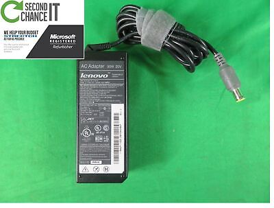 $ CDN79.09 • Buy Lot Of 10 Genuine Lenovo ThinkPad Laptop AC Charger Power Adapter 90W ROUND TIP