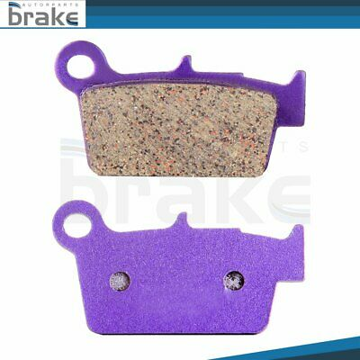 $8.64 • Buy New Rear Carbon Fiber Brake Pads For 2005-2008 TM EN450F