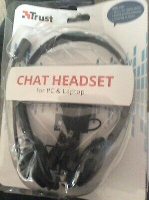 LAPTOP HEADSET With STEREO MICROPHONE | 3.5mm TRRS Connector | ZOOM SKYPE CHAT • 5.70£