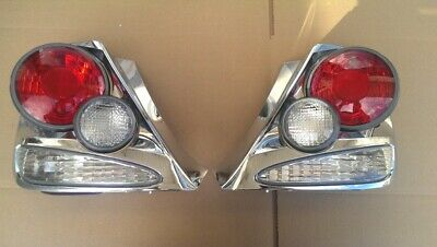$59.99 • Buy 03 04 05 HONDA CIVIC Si SiR 3 DR HATCHBACK CHROME RETRO STYLE 3D TAIL LIGHTS