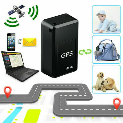 AU14.91 • Buy GF-07 Mini GPS Real Time Car Locator Tracker Magnetic GSM GPRS Tracking Device