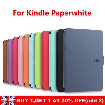 Smart Leather Flip Magnetic Cover Case For Amazon Kindle Paperwhite 2018 UK~ • 6.70£