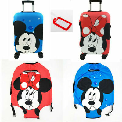 £10.71 • Buy Disney Minnie Travel Luggage Cover Trolley Suitcase Protect Dust Case Accessorie