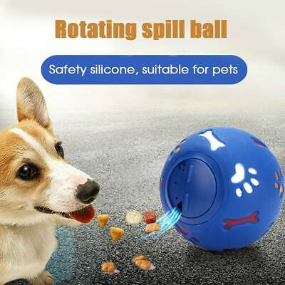 Pet Puzzle Toy Food Dispenser Tough-Treat Ball Dog Interactive Puppy Play Toys • 5.98£