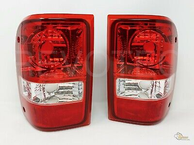 $52 • Buy 2001-2011 Ford Ranger Red OE Style Replacement Tail Lights RH + LH