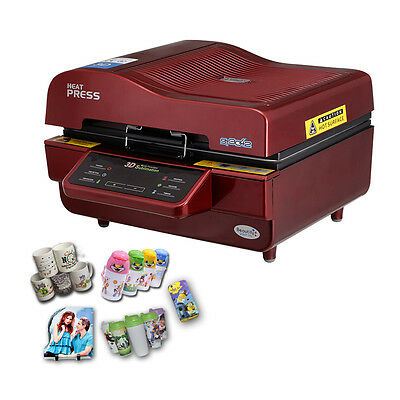 AU1007.93 • Buy New 3D Sublimation Transfer Heat Press Machine Printer For Phone Cases Mugs Cups