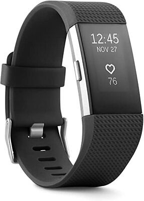 $ CDN48.95 • Buy Fitbit Charge 2 HR Heart Rate Fitness Tracker <Hairline Crack> Small Large XL