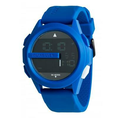£63.67 • Buy Quiksilver Mens DRONE DIGITAL SILICONE SURF WATCH New - EQYWD03003 Blue