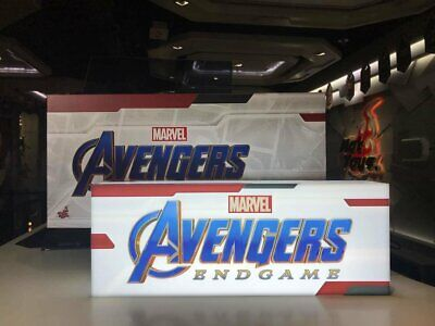 $ CDN202.58 • Buy Hot Toys Marvel Studios Avengers Endgame USB Light Box