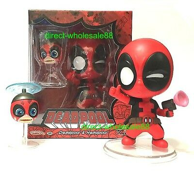 $ CDN37.61 • Buy Hot Toys Deadpool And Headpool Cosbaby Marvel