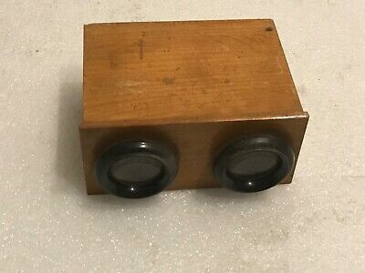 Stereoscopic Viewer Rare Early One With Important Slide • 125£