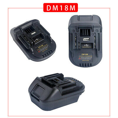 AU23.98 • Buy Portable Battery Adapter For Makita Tools Convert To Milwaukee 18V Battery