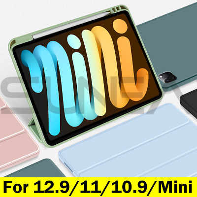 AU32.95 • Buy IPad Pro 11/12.9 Case Air 4 2020 Shockproof Silicon Smart Cover With Pen Holder