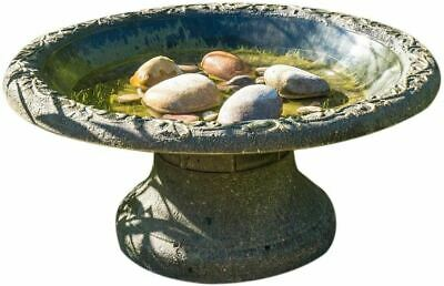 Wildife World Coniston Bird Bath Twist Fit Stem Recycled Clayplus+ 50cm • 44.99£