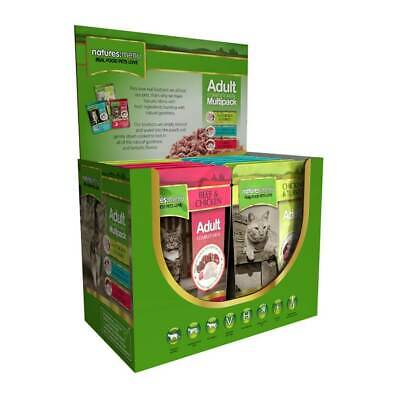 Natures Menu Mixed Multipack Adult Cat Food Pouches - 12 X 1 • 10.44£