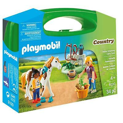 £9.95 • Buy Playmobil Country Horse Grooming Carry Case 9100